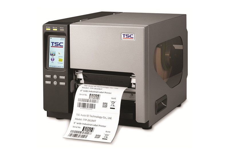 TSC-TTP-2610MT Industrial Barcode & Label Printer
